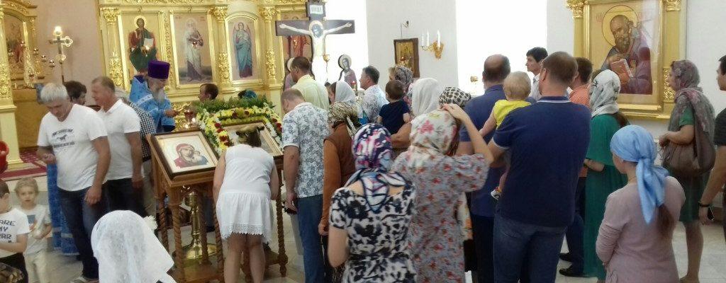 Неделя 5-я по Пятидесятнице. Явление иконы Пресвятой Богородицы во граде Казани